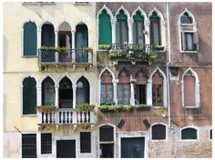 Housing architecture of Venice, Italy