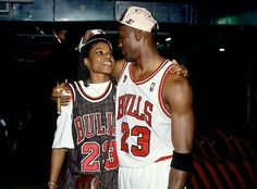 Basketball hall of famers Sheryl Swoopes and the GOAT celebrate in Chicago.