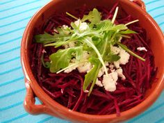 Rødbetsalat med feta og ruccola | Snaddervaffel