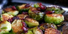 Recipe Sunday: Brussels Sprouts with Lemon and Cranberries