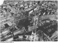 Oktober 1967 Der Alexander Platz von oben