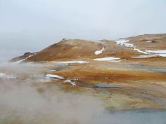 Islandia - fumarolas Hverir
