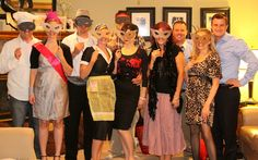 Don't forget to get a few group photos | I Do On A Dime: Murder Mystery Party