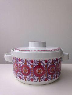 Figgjo Fajanse Turi-design Norway covered Bowl