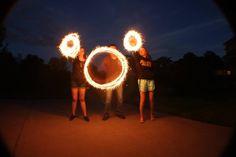 Sparklers + tripod + long exposure = pure #disney magic.
