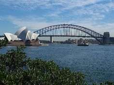 see the sydney harbour bridge...maybe do the walk across?