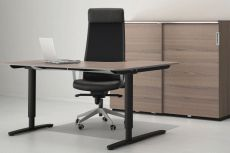 Ikea bureau noir Élégant grand bureau noir ikea best room setup