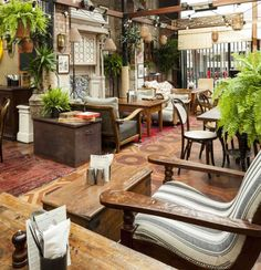 Best places for eating outdoors in London