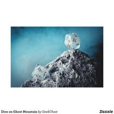 Dice on Ghost Mountain Canvas Print