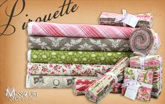 Look what we just got in! Pirouette by Verna Mosquera for Free Spirit Fabrics