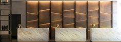A new design hotel in Milan – the historic Hilton Hotel at via Galvani was recently redesigned by THDP Design, a London-based interior design company, which i Lobby Interior, Best Interior, Modern Interior, Stylish Interior, Traditional Interior, Modern Traditional, Hotel Lobby Design, Design Corporativo, Wall Design