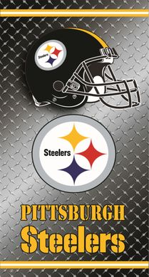 Pittsburgh Steelers Diamond Plate Towel (30 x 60)