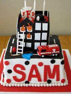Cartoonito Cake Design : Fireman Sam and Cat Colouring In Fireman Sam Activities ...