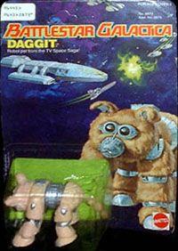 Battlestar Galactica Daggit Action Figure by Mattel http://www.ebay.ca/usr/collectiblesbycandb