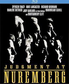 Judgement at Nuremberg - Blu-Ray (Kino Classics Region A) Release Date: January 9, 2018 (Amazon U.S.)