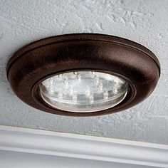 Wireless LED Ceiling Light With Remote Control $25