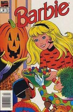 Barbie Halloween, Halloween Cartoons, Halloween Books, Vintage Halloween, Halloween Labels, Vintage Witch, Halloween Halloween, Halloween Pumpkins, Halloween Makeup