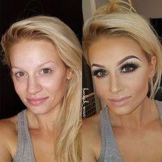 37 Trendy Makeup Contour Before After Make Up Power Of Makeup, Beauty Makeup, Eye Makeup, Hair Makeup, Hair Beauty, Chanel Makeup, Makeup Bags, Makeup Geek, Beauty Art