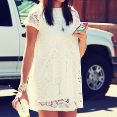 The Santa Clara Lace Dress, Sweet Lace Dresses from Spool 72. | Spool No.72