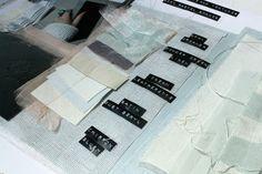 Fashion Sketchbook - fabric sample pages; layout inspiration; fashion portfolio // Jessica Leigh Haughton