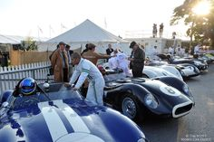 Behind the Scenes at 2014 Goodwood Revival