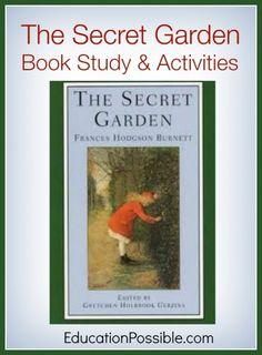 The Secret Garden - Book Study & Activities