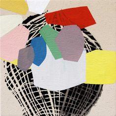 """Mind Machine"" by Misato Suzuki. Acrylic on canvas."