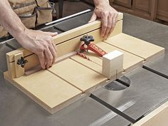 Small-parts Tablesaw Sled Woodworking Plan. Hold small parts securely, safely, and dead-square to the blade for clean and super-accurate cuts on your tablesaw. Featured in the November 2013 issue of WOOD.