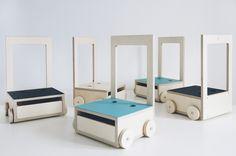 Glücksstuhl nació hace unos meses como colaboración entre NIMIO y la tienda ¡Glück! NIMIO propuso a María, la dueña de ¡Glück! Sofa Furniture, Kids Furniture, Furniture Design, Furniture Stores, Deck Chairs, Cool Chairs, Kids Bedroom Storage, Baby Chair, Kids Lighting