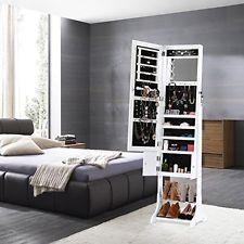 #Jewelry #Organizer #Armoire #Dresser #Mirror #LED #Lights #Wood #Cabinet #Storage #Shelves - https://t.co/4B2M055GAh