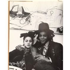idea.ltd Madonna. Yes. Jean-Michel Basquiat. Yes. New York Beat. The Downtown81 book. Published 2001. Much sought after since. Email if you want@ideanow.online #basquiat #newyorkbeat photo by @lordrochester very good! 2016/05/07 19:49:54