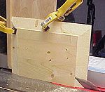 Make an easy jig that will allow you to build your own DIY raised panel shutters with a table saw. Now router bits needed!