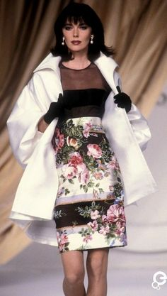 1991 Christian Dior, Spring-Summer Couture                                                                                                                                                                                 More