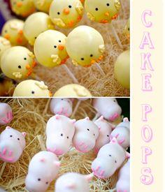 Cute for farm themed birthday party