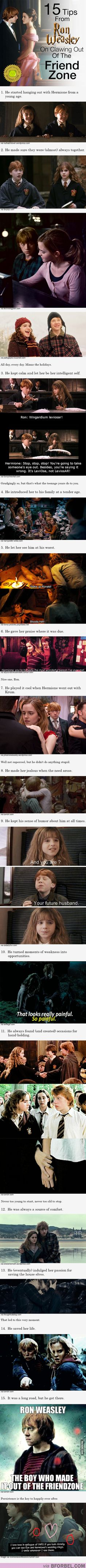 15 Tips From Ron Weasley On Clawing Out Of The Friend Zone… He Turns 26 Today!
