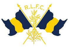 ROB HOWELL R.L.F.C. CROSSED FLAGS for RUGBY RALPH LAUREN