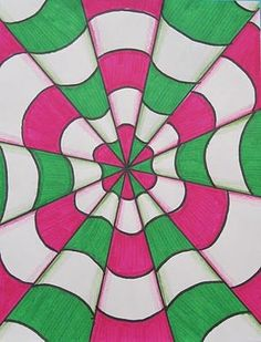 Runde's Room: Optical Illusions in Art Class.