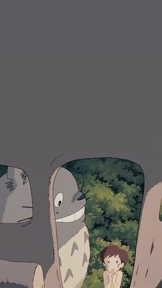 지브리 이웃집 토토로 핸드폰 배경화면 : 네이버 블로그 Hayao Miyazaki, Studio Ghibli Art, Studio Ghibli Movies, Kawaii Wallpaper, Wallpaper Iphone Cute, Cute Cartoon Wallpapers, Animes Wallpapers, Personajes Studio Ghibli, Studio Ghibli Background