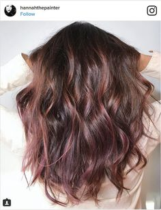 The Newest Hair Trend You Have To Try Is Chocolate-Mauve