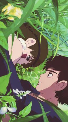 Together we'll live. | Princess Mononoke | Miyazaki | Studio Ghibli