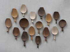 Chasaji -Tea Leaf Spoon by Tatsuya Aida Woodworking Supplies, Woodworking Projects, Chaise Vintage, Wood Spoon, Wooden Kitchen, Japanese Design, Made Of Wood, Wood Carving, Wood Art