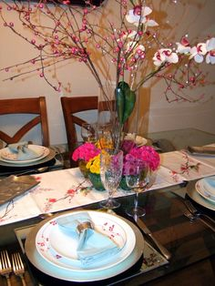 summer table setting, table decor, Jewish Holiday,
