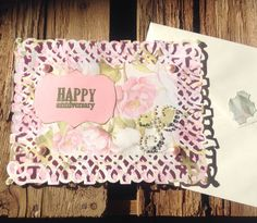 Anniversary Card with Free Shipping, Handmade by CountryShades on Etsy