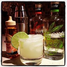 Suerte Tequila coin style marg