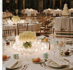 Elegant Carnation Centerpieces