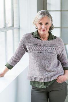 Modèle de tricot - Brooklyn Tweed Pull NATSUMI