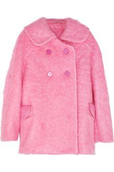 CARVEN Oversized brushed-felt coat