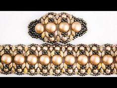 Ажурный браслет с канди бусинами.(Часть 2/2) - YouTube