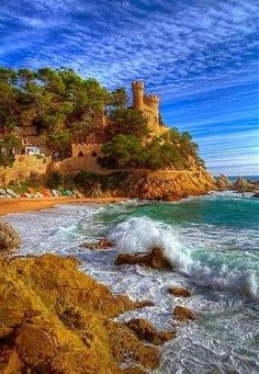 Exotic places for your #travel -Lloret de Mar, Costa Brava, Spain