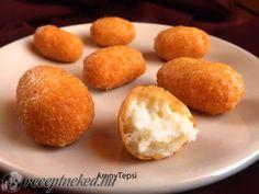 Egyszerű sajtkrokett recept